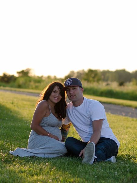 Two People Grass Smiling Togetherness Couple - Relationship Happiness Outdoors Nature People Happiness Maturnitypictures Photography Family Family With One Child Mother Father Baby Love