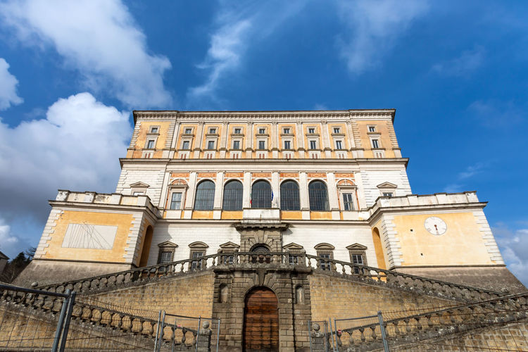 The villa farnese is located in the town of caprarola near viterbo, northern lazio, italy.