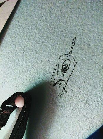Dibuix Dibuix Dibujo Dibujoenlapared Art, Drawing, Creativity Drawing Walldraw Alien Alien Smoke Smoke Weed Alien Weed