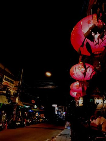 The City Light Chiang Mai | Thailand Chiang Mai Night Barzza Night Illuminated Lantern Hanging City Light And Shadow Chiang Mai City Life City Street City Lights City Views City Building Lights Transportation Vehicle Multi Colored Multi Image Lens Welcome Weekly