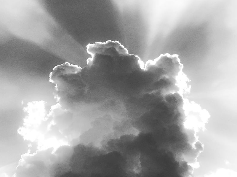 Power Blackandwhite Monochrome Bnw EyeEm Best Shots Black And White EyeEm Nature Lover Dream Cloud - Sky Backgrounds Cloud - Sky Meteorology Heaven Cumulus Cloud Cloudscape Sky Only