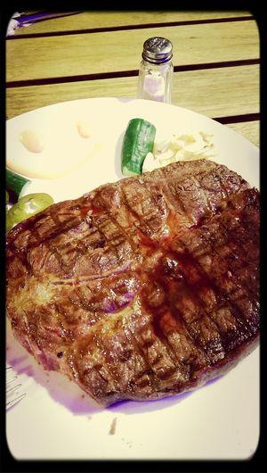 Huge steak? 全家炭燒 中壢 Delicious