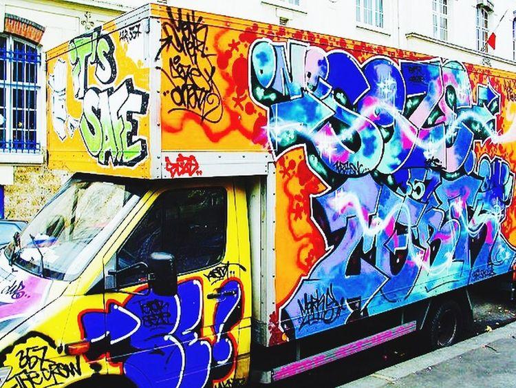Graffiti Streetart Truck Painted First Eyeem Photo