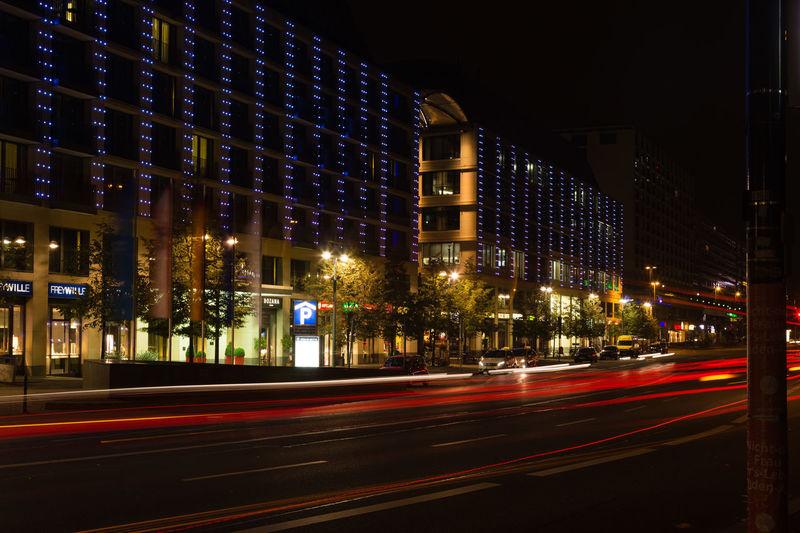 Nightphotography Nightlife Night Photography Night Lights My Fuckin Berlin I Love My City Festival Of Lights 2015 City Life Capital Cities  Berliner Ansichten