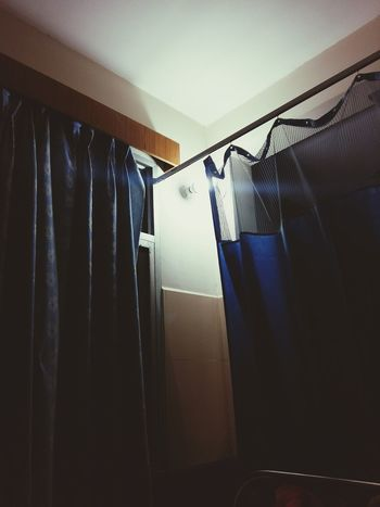 Indoors  Hanging Curtain No People Day