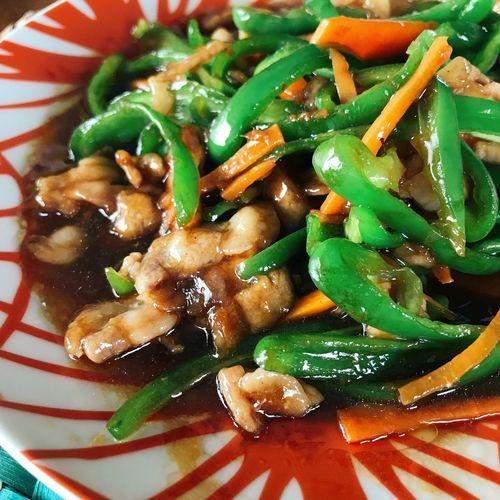 青椒肉絲 Food And