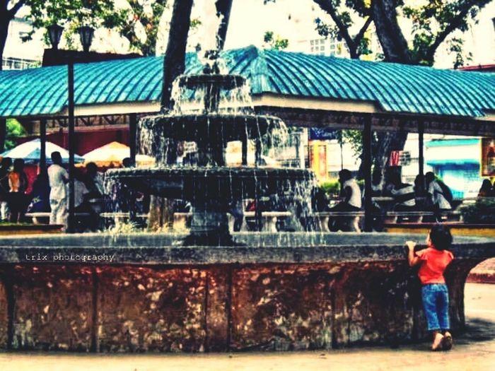 baby in the fountain @eyeemph Eyeem Philippines Eyeemphotography Streetphotography