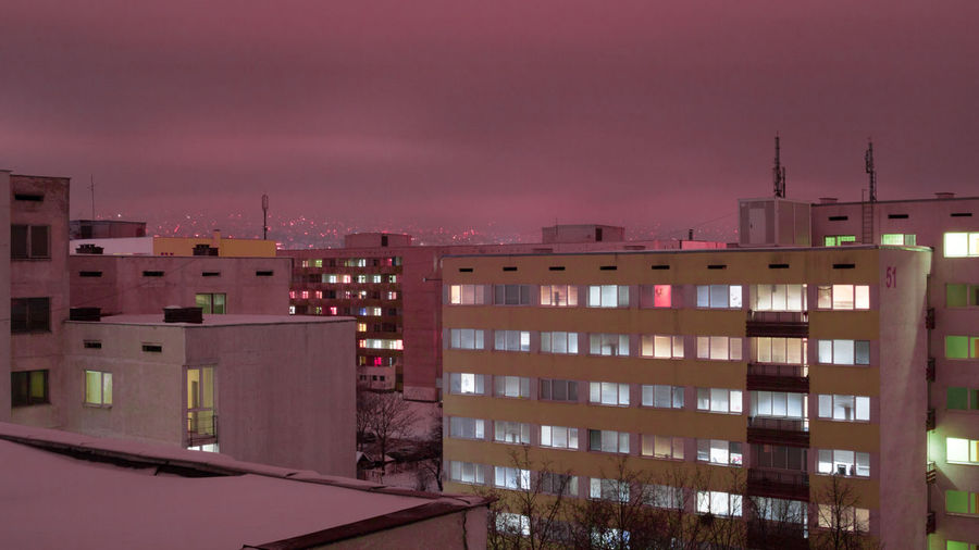 pink world Aesthetics Pink Building Purple Windows Light Story Photography Photo Photographer Photography Real Soul Calm Tres Chill PhonePhotography Residential District Crowded Tower Building Building Story