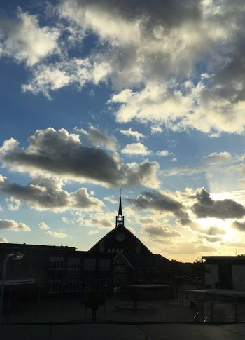 No filter needed💒 Church Architecture Building Exterior Built Structure Sky Cloud - Sky No People Silhouette