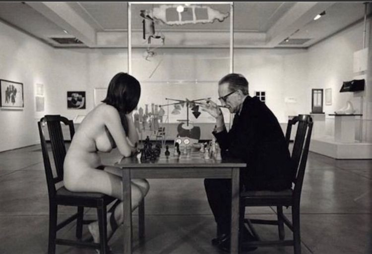 Ajedrez Chess Two People Adults Only Sitting Indoors  Love People
