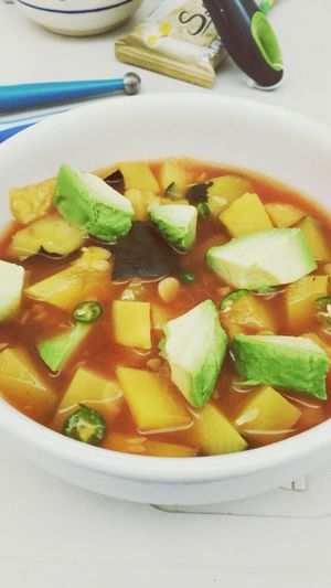 Sopa Soup Calabacitas Mom Food