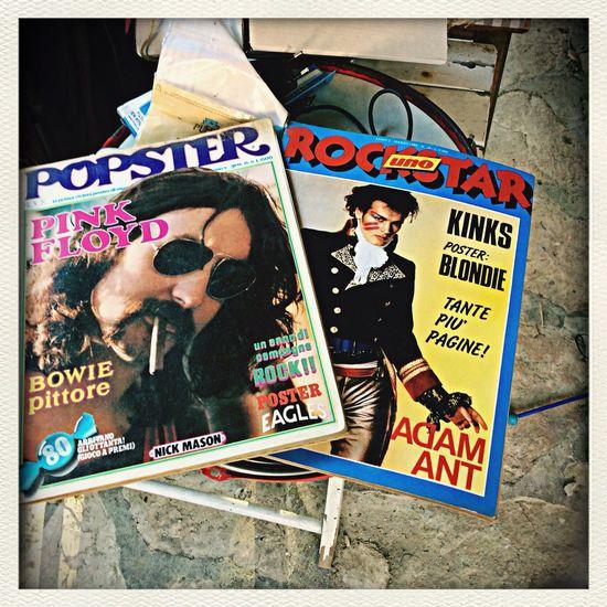 Nel 1979 avevo 14 anni leggevo Popster, nell'81 avevo 16 anni, leggevo Rockstar... Appena ritrovati a casa dei miei, nella mia camera...