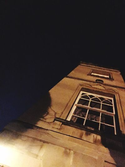 Built Structure Architecture Low Angle View No People Building Exterior Outdoors Spooky Spooky Hotel Bristol, England Working Away for MK Illuminations Strange Place Take Me Home ❤
