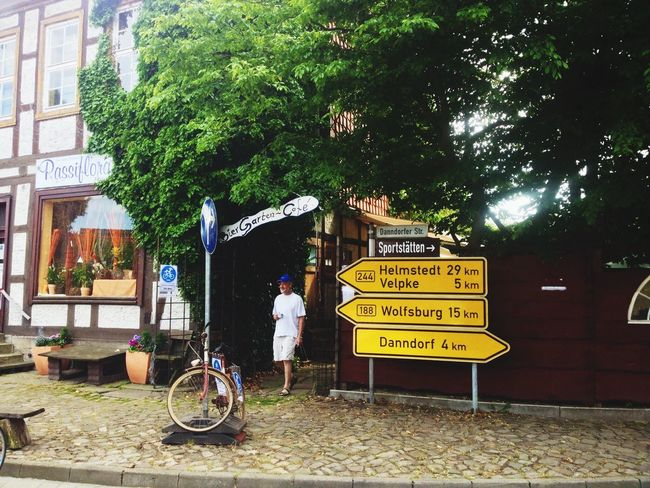 Having a rest close to the German version of my home town Velp On The Long Road To Paris Cycling Bike Trip