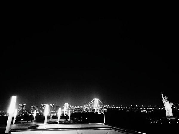 Tokyo Japan Night Illuminated Outdoors No People Sky