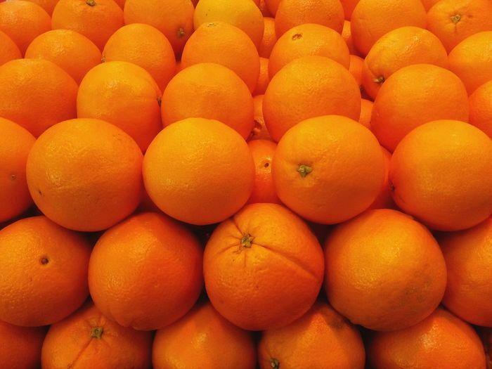 Orange for me Freshness Orange Color Fruit Orange - Fruit Healthy Eating Citrus Fruit Abundance Large Group Of Objects No People Full Frame Food And Drink Food Backgrounds Close-up Outdoors Day Naranjas Naranja
