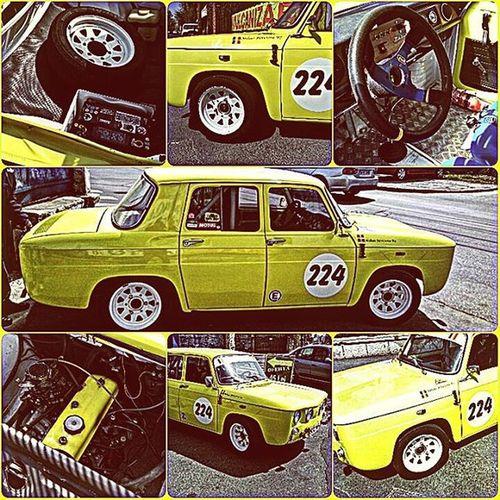 Dacia 1100  Madeinromania UAP Pitesti Yellow Today Car 47yearsold Rally Romania Ourpride History