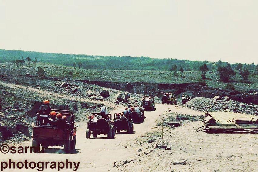 Jeeps Merapi Volcano Summer ☀ Hot