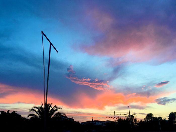 Summer memories Summer Colours Of Nature Nature Sunset Cloud Cloud - Sky Italian Sky Italy
