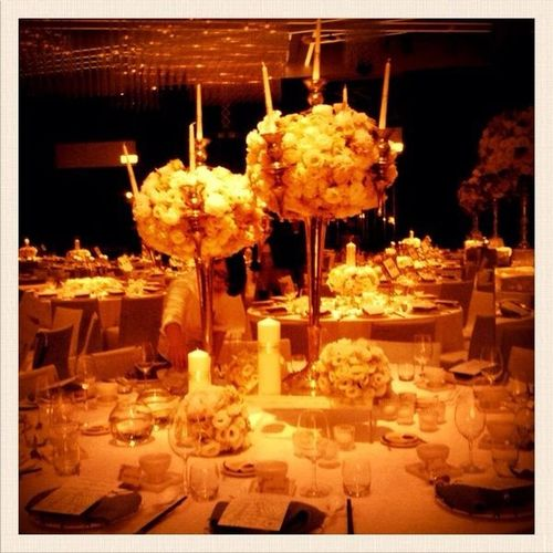 Arrangement Candles And Flowers Floral Arrangements Flowers Once A Life Time Romantic Table Wedding