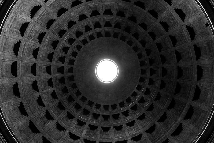 Round About (2). Built Structure Pattern Architecture Circle Travel Travel Destinations Low Angle View No People Dome Indoors  Cupola Directly Below Building Exterior Place Of Worship City Day Church Pantheon Europe Rome Italy Roma Rome Bella Italia Italia Italy