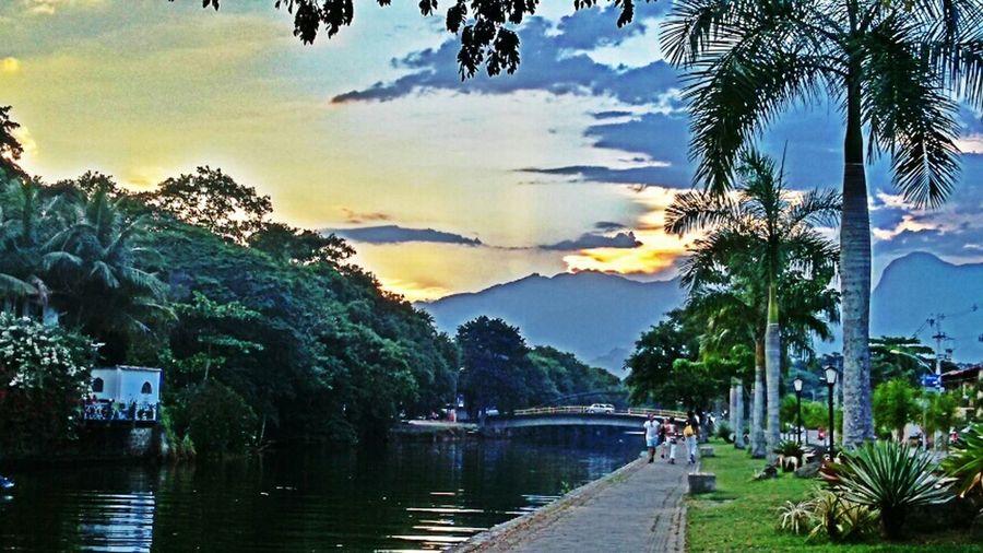 Sky And Clouds Riverwalk Paraty- Rj
