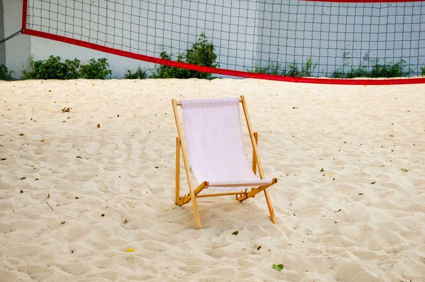 Summer in the City Summer Summertime Summer In The City City City Life City Scene Empty Beach Volleyball Sport Sand Beach Net - Sports Equipment Court Volleyball - Sport Outdoor Play Equipment Swing Rope Swing Urban Scene The Traveler - 2018 EyeEm Awards