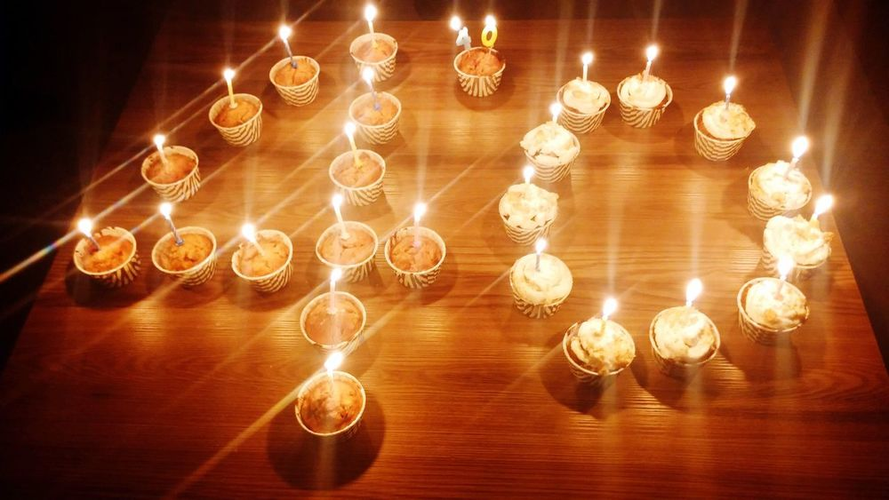 Birthday 😚 Suprise New Age Happiness Wishes And Hopes Celebrating Birthday Candles Light Candles Cupcakes Handmade Cupcakes I Like Cupcakes New Age Friends And Family People Have Fun The Week On EyeEm