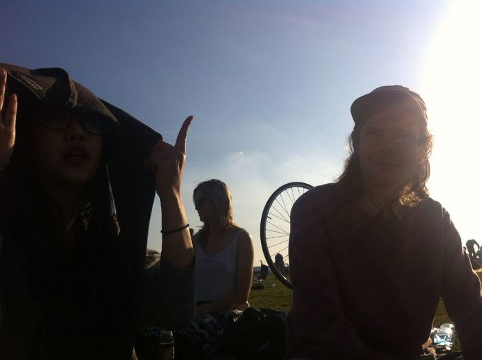 Quality time at Flugfeld Tempelhof Quality Time