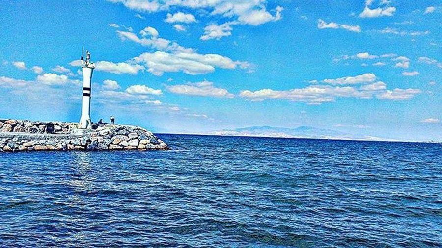 Turkey Izmir Güzelbahçe Objektifimden Aniyakala Cityofizmir Igizmir Igers Landscape View Sea Photooftheday Bestoftheday Picoftheday Instadaily Sky Naturelover Nature Cokgezenlerkulubu Fotografheryerde
