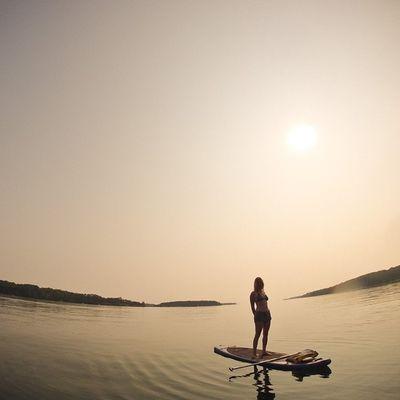 Paddle board in PrincesInlet Sup Gopro Igersottawa VisitNovaScotia