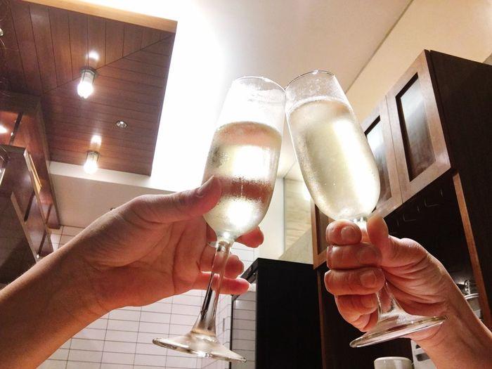 ここから始まり〜〜o(^▽^)oo(^▽^)o乾杯🍷🍷 ありがとう♪ 東京 いいことあったよ いただきまーすヽ(*'▽'*)ノ ランチタイム 幸せ〜〜な美味しい時間をありがとう ひより