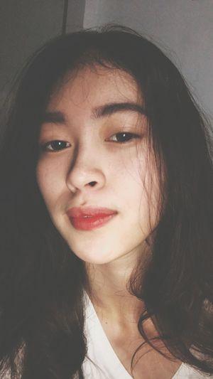 Liptint Adulting Pretty Face Selfie ✌ Portrait Beautiful Woman Young Women Beauty Human Face Females Human Lips Looking At Camera Beautiful People Women