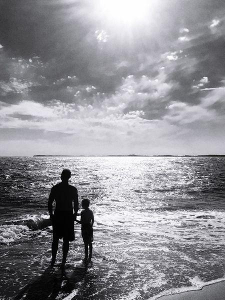 People Of The Oceans Edisto Beach, SC Vikki Bradley O'Keefe Art