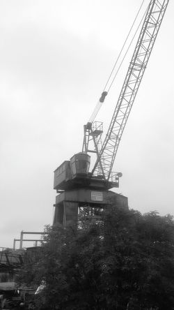 Old crane from 1979... Shades Of Grey Old Stuff Taking Photos Black And White EyeEm Best Shots - Black + White Found Object Craneporn Crane Cranes Cranespotting