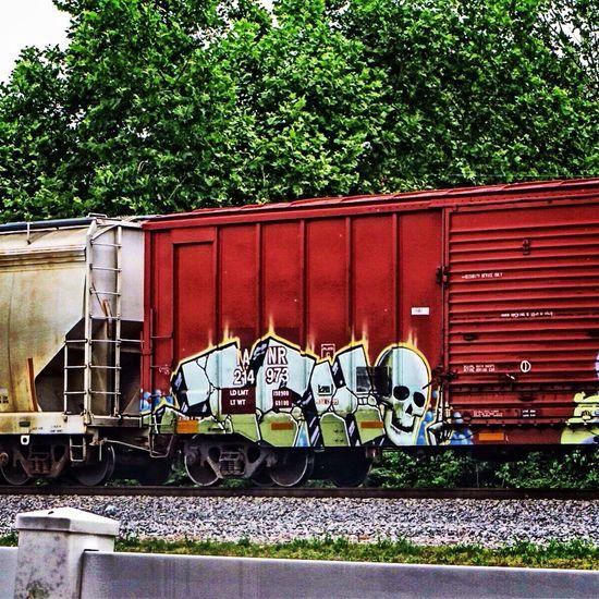 ICH Ichabod Ich Railart Graffiti