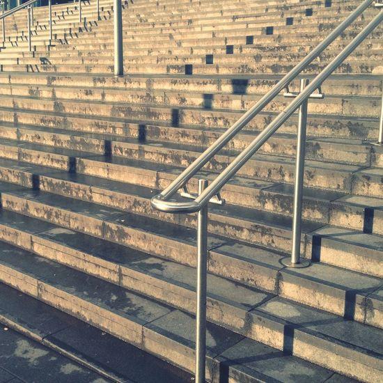 Steps & shadows at Stratford!