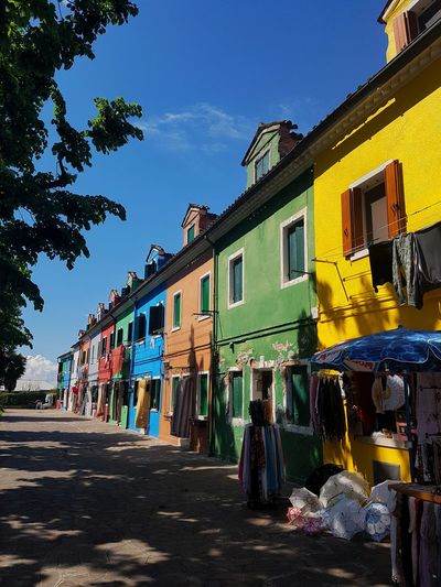 Sky Outdoors Architecture Building Exterior Clear Sky Multi Colored EyeEmNewHere Sunlight Springtime Travel Destinations Culture And Tradition Burano, Italy Built Structure Eye Em Diversity Multicolored Houses Special Culture And Buildings Sunny Day Vacation Tourism Streetphotography Walking Around EyeEm Diversity EyeEmNewHere EyeEmNewHere EyeEmNewHere The Architect - 2017 EyeEm Awards The Street Photographer - 2017 EyeEm Awards