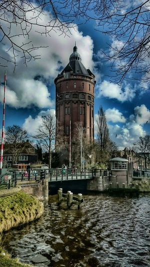 Eye4photography , Hdr Edit, Dutch Cities, Water Tower(1912), Architecture, Monument
