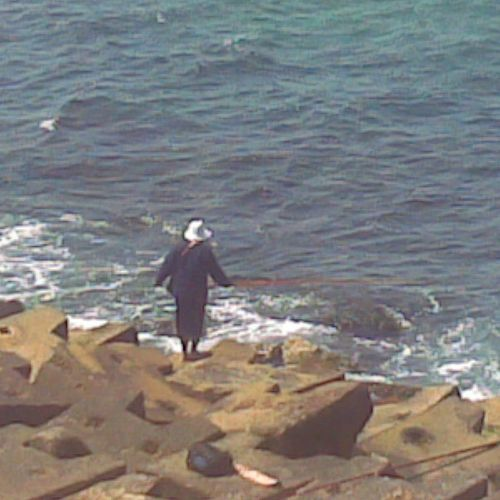 Alexandria Fisherman Beach By The Sea Citadel Rocks Day Egyptian-Faces Outdoors While Walking