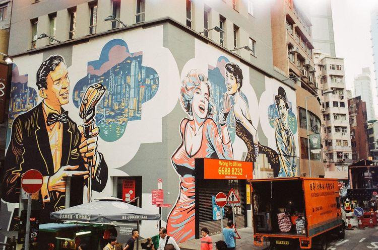 Kodak Colorplus200 Kodak Elmarit ELMARIT-M 28mm F2.8 Leica Lens 35mm Film Film Photography Arts Culture And Entertainment Architecture Building Exterior City Men People Occupation