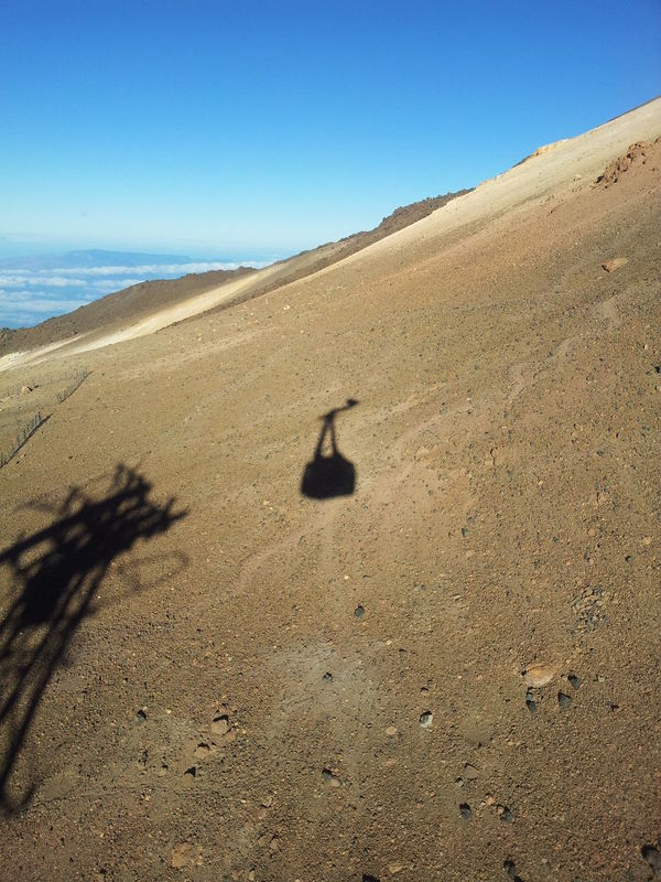 Clear Sky Mountain Outdoors Sand Teide Telepherique