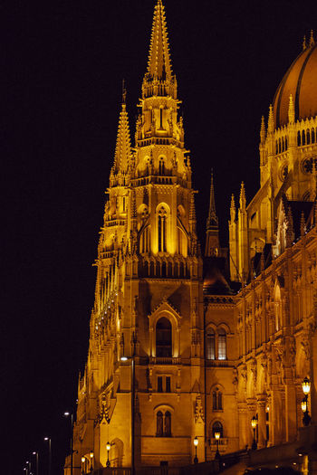Camera - Canon 550D -Lens - 50 mm f/1.8 Blog : https://www.instagram.com/david_sarkisov_photography/ Building Exterior Night Built Structure Architecture Illuminated Building Belief Place Of Worship Sky Low Angle View Religion Travel Destinations Spirituality City Tower Travel History The Past No People Outdoors Spire  Clock Gothic Style