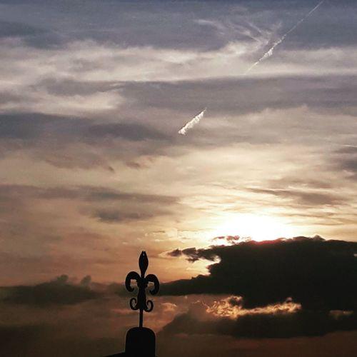 Oil Pump Sunset