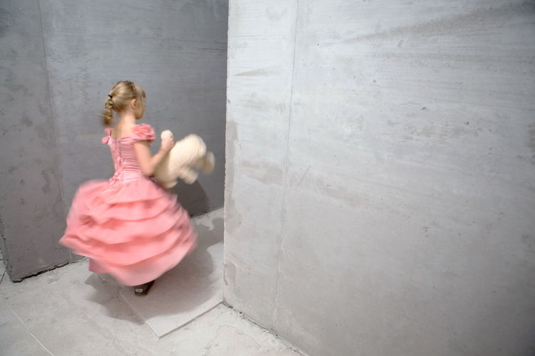 Childhood Cinderellagirls Girls Grunge Millennial Pink People Pink Color Pink Dress