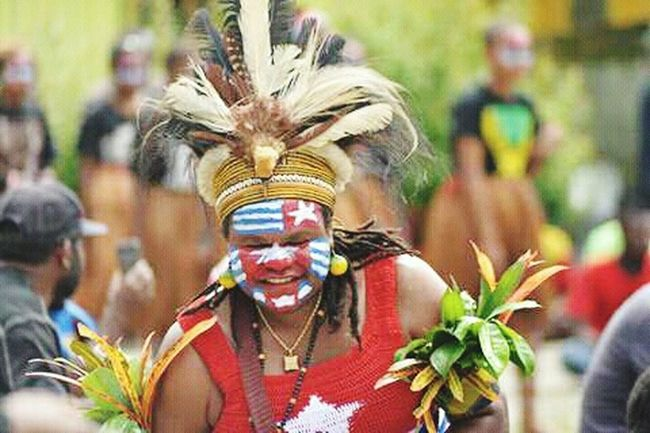 West Papua People West Papua Politic Of Freedom West Papua Want To Free Of Indonesia Colonial. Papua Free Of Indonesia Colonial West Papua Girl West Papua Women Social Issues Countrylife Patriotism West Papua Flag West Papua Culture Young Women Uniform Of West Papua Tradition West Papua Tradition