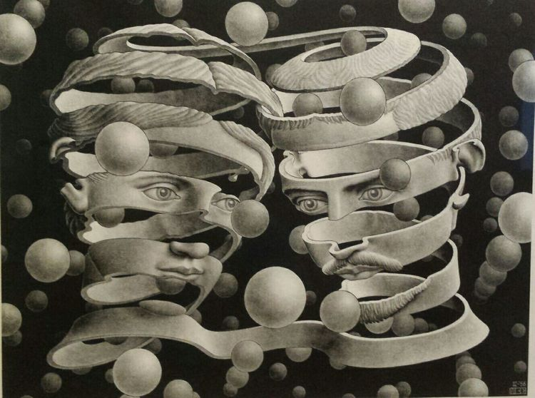 Artist Escher Dali Museum Taking Photos Hanging Out Check This Out Tampa Florida Notes From The Underground