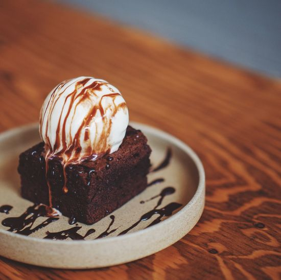 brownie with
