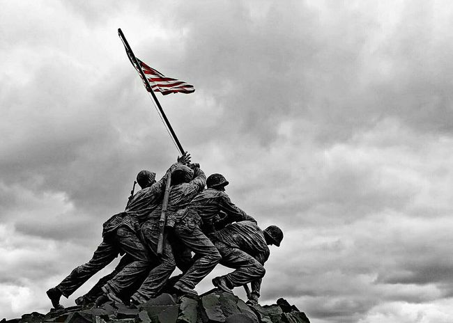 Iwo Jima Memorial. Washington, D. C. Photography Black And White Statue Memorial Travel Photography Emotions Monochrome Photography Iwo Jima Memorial Arlington  Virginia