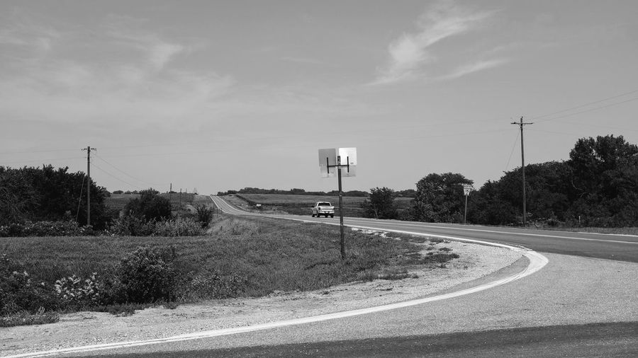 Visual Journal August, 2018 Southeast, Nebraska 35mm Camera Always Making Photographs B&W Collection B&W Landscape Camera Work Everyday Lives EyeEm Best Shots FUJIFILM X100S Getty Images Photo Essay Small Town America Summertime Village Of Western, Nebraska Visual Journal Cloud - Sky Curve Day Direction Dividing Line Electricity  Electricity Pylon Empty Road Eye For Photography Highway Long Form Storytelling Marking Monochrome My Neighborhood Nature No People Non-urban Scene Outdoors Photo Diary Plant Road Road Marking S.ramos August 2018 Schwarzweiß Sign Sky Symbol The Way Forward Transportation Tree